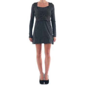 Textil Mulher Vestidos curtos Nolita  Gris oscuro