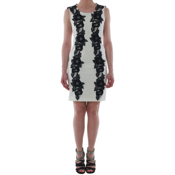Textil Mulher Vestidos curtos Rinascimento 1260/16M_PANNA_BIANCO Blanco roto