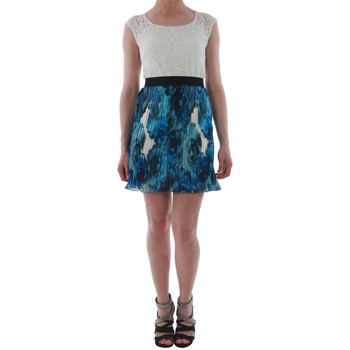 Textil Mulher Vestidos curtos Rinascimento 1276/16M_BLU Blanco