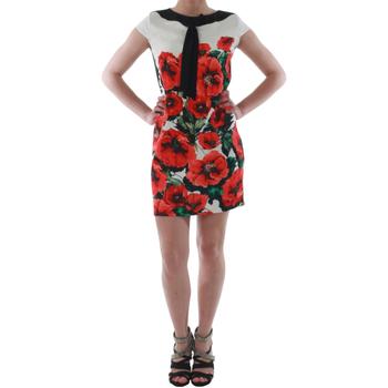 Textil Mulher Vestidos curtos Rinascimento 1253/16A_ROSSO Blanco