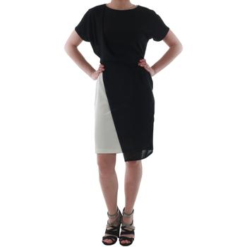 Textil Mulher Vestidos curtos Rinascimento MIRANDA_BIANCO Negro