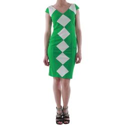 Textil Mulher Vestidos curtos Rinascimento 241012/VERDE Verde