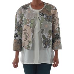 Textil Mulher Casacos/Blazers Rinascimento 82012_VERDE Verde