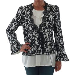 Textil Mulher Casacos/Blazers Rinascimento 7643_BIANCO Blanco
