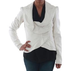 Textil Mulher Casacos/Blazers Rinascimento 7690_BIANCO Blanco