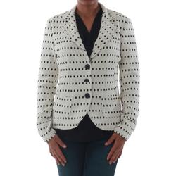 Textil Mulher Casacos/Blazers Rinascimento 182023_BIANCO Blanco roto