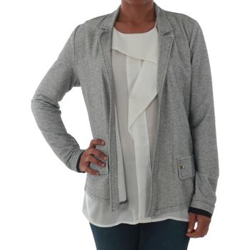 Textil Mulher Casacos/Blazers Rinascimento PE450_NERO Plateado