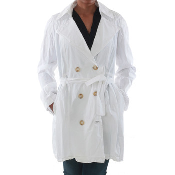 Textil Mulher Trench Rinascimento 7540_BLANCO Blanco