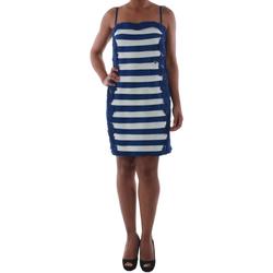 Textil Mulher Vestidos curtos Rinascimento 322B.012_BLU Azul