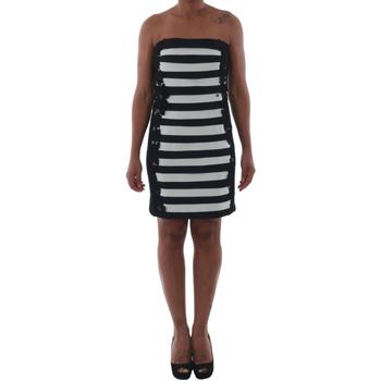 Textil Mulher Vestidos curtos Rinascimento 322B.012_BIANCO Negro