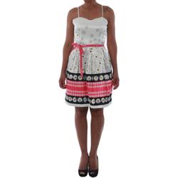 Textil Mulher Vestidos curtos Rinascimento 1384/16M_FUXIA Blanco