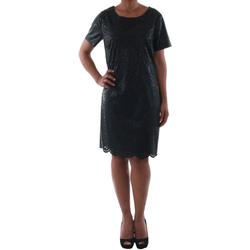 Textil Mulher Vestidos curtos Rinascimento 14007_NERO Negro