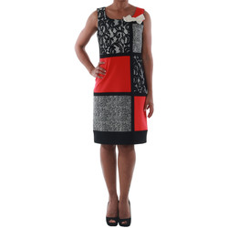 Textil Mulher Vestidos curtos Rinascimento 7616A/B_CORALLO Negro