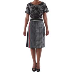 Textil Mulher Vestidos curtos Rinascimento 9208/C_NERO Negro