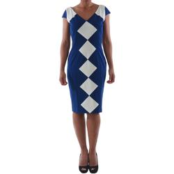 Textil Mulher Vestidos curtos Rinascimento 241.012_BLU Azul