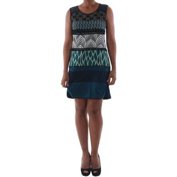 Textil Mulher Vestidos curtos Rinascimento 82029_BLU Azul marino