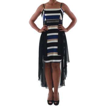 Textil Mulher Vestidos curtos Rinascimento PAINT/R_BLU Negro