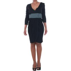 Textil Mulher Vestidos curtos Silvian Heach  Negro