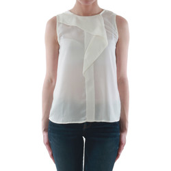 Textil Mulher Tops sem mangas Sz Collection Woman WCS_1233_WHITE Blanco roto