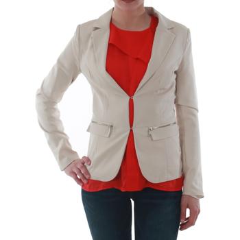 Textil Mulher Casacos/Blazers Sz Collection Woman WXZ_1376C_BEIGE Beige
