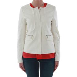 Textil Mulher Casacos/Blazers Sz Collection Woman WXZ_7906_OFFWHITE Blanco roto