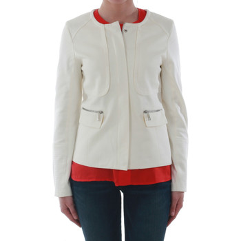 Textil Mulher Casacos/Blazers Sz Collection Woman WXZ_7906_OFFWHITE Blanco roto