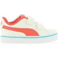 Sapatos Criança Sapatilhas Puma 362949 COURT Blanco