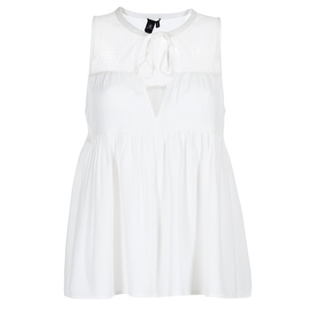 Textil Mulher Tops / Blusas Volcom SEA Y'AROUND TOP Branco