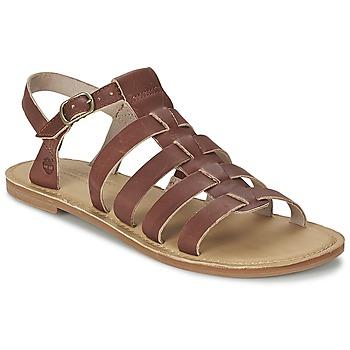 Sapatos Mulher Sandálias Timberland EARTHKEEPERS® SHEAFE FISHERMAN Castanho / Claro