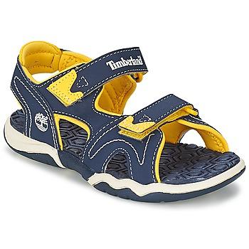 Sapatos Criança Sandálias Timberland ADVENTURE SEEKER 2-STRAP SANDAL Azul