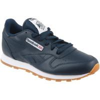 Sapatos Criança Sapatilhas Reebok Sport Classic Leather Bleu marine