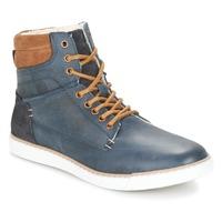 Sapatos Rapaz Sapatilhas de cano-alto Bullboxer  Azul / Camel