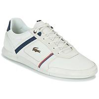 Sapatos Homem Sapatilhas Lacoste MENERVA 118 1 Branco