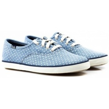 Sapatos Criança Sapatilhas Keds Sapatilha CHAMP CVO  CHAMBRAY HEART Azul