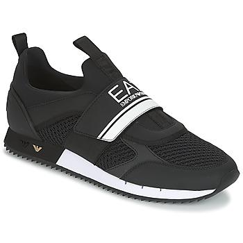 Sapatos Homem Sapatilhas Emporio Armani EA7 BLACK & WHITE U Preto