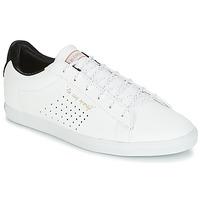 Sapatos Mulher Sapatilhas Le Coq Sportif AGATE LO S LEA/SATIN Branco