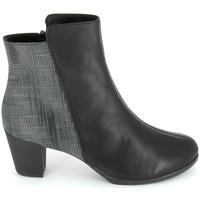 Sapatos Mulher Botins TBS Katelyn Noir Preto