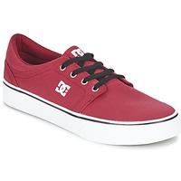 Sapatos Homem Sapatilhas DC Shoes TRASE TX MEN Vermelho / Preto