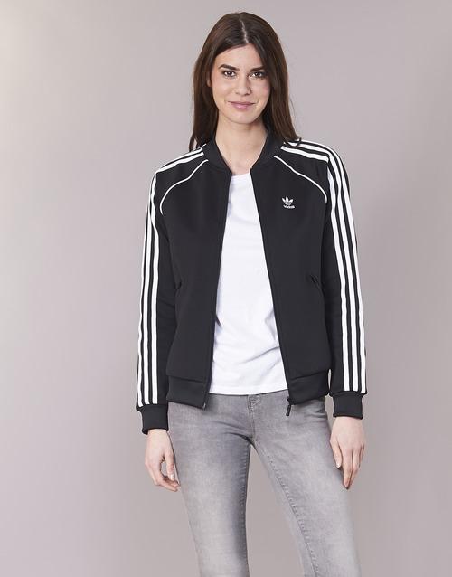 Textil Mulher Casacos fato de treino adidas Originals SST TT Preto