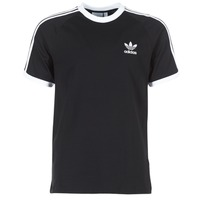 Textil Homem T-Shirt mangas curtas adidas Originals 3 STRIPES TEE Preto