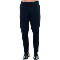Textil Homem Calças Jack & Jones 12120552 JPRBONO TROUSER DARK NAVY Azul marino