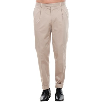 Textil Homem Calças Jack & Jones 12120552 JPRBONO TROUSER STRING Beige