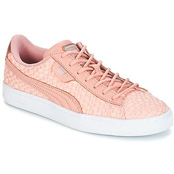 Sapatos Mulher Sapatilhas Puma BASKET SATIN EP WN'S Rosa