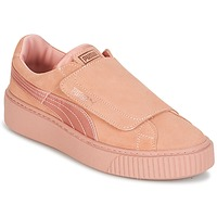 Sapatos Mulher Sapatilhas Puma PLATFORMSTRAP SATIN EP W'S Rosa