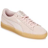 Sapatos Mulher Sapatilhas Puma SUEDE CLASSIC BUBBLE W'S Rosa