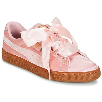 Sapatos Mulher Sapatilhas Puma BASKET HEART VS W'N Rosa