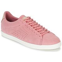 Sapatos Mulher Sapatilhas Le Coq Sportif CHARLINE SUEDE Rosa