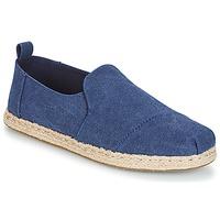 Sapatos Homem Alpargatas Toms DECONSTRUCTED ALPARGATA ROPE Azul