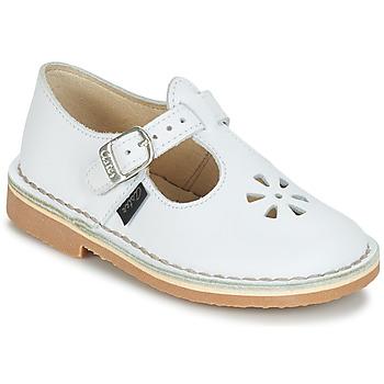 Sapatos Rapariga Sabrinas Aster DINGO Branco