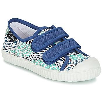Sapatos Rapaz Sapatilhas Aster MICKY Branco / Azul